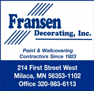 Paint & Wallcovering Contractors Since 1923