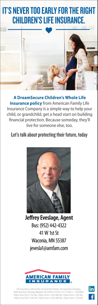 It's Never too Early for the Right Children's Life Insurance