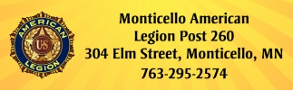Monticello American Legion Post 260