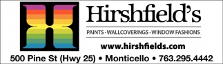 Paints, Wallcoverings & Window Fashions