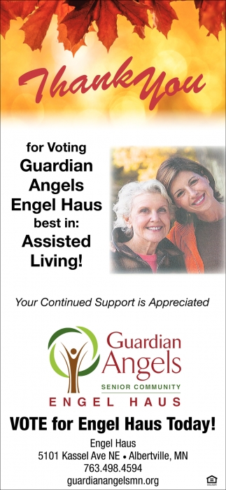 Vote for Engel Haus Today!