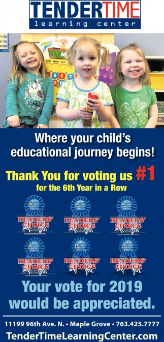 Where Your Child's Educational Journey Begins!