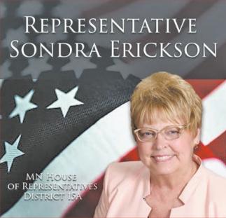 Representative Sondra Erickson
