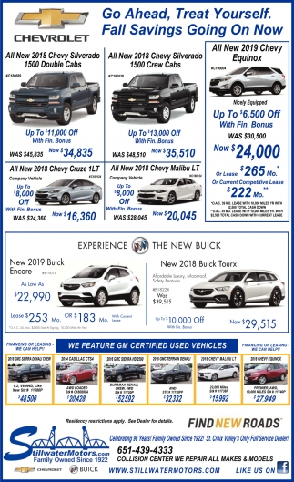 We Feature GM Certified Used Vehicle