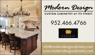 Custom Cabinetry at its Finest, Modern Design, Cologne, MN
