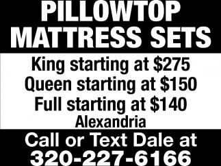 Pillowtop Mattress Sets