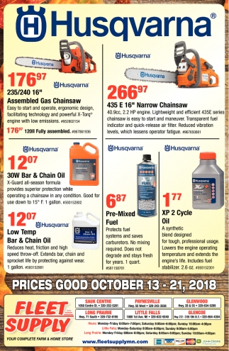 Prices Good October
