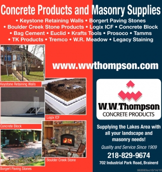 Supplying the Lakes Area with All Your Landscape and Masonry Needs!