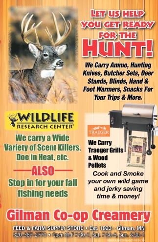 Let Us Help Your Get Ready for the Hunt!