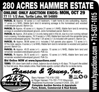 280 Acres Hammer Estate