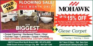 Flooring Sale!