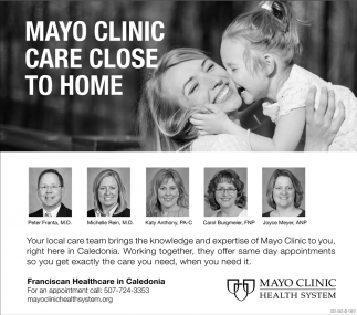 Mayo Clinic Care Close to Home, Mayo Clinic Health System