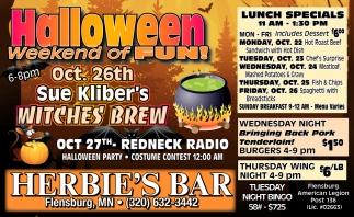 Halloween Weekend of Fun!