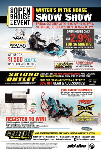 The Ski-Doo Open House Event