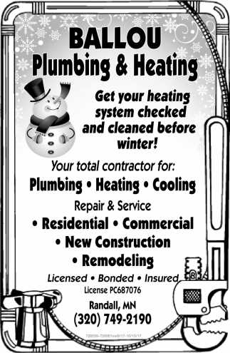 Get Your Heating System Checked and Cleaned Before Winter!
