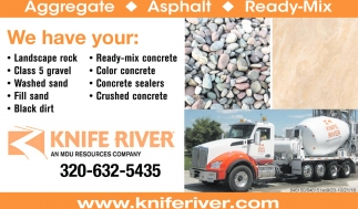 Aggregate, Asphalt & Ready-Mix