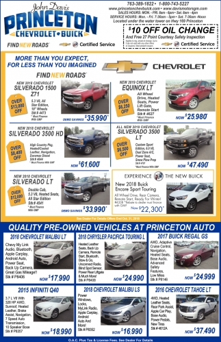Quality Pre-Owned Vehicles at Princeton Auto