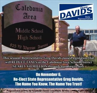 Greg Davids State Representative