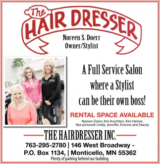 A Full Service Salon where a Stylist Can be their Own Boss!