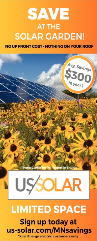 Save at the Solar Garden