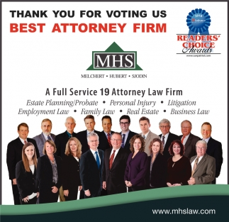 Thank You for Voting Us Best Attorney Firm