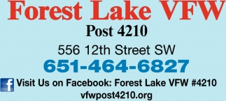Forest Lake VFW Post 4210