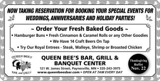 Order Your Fresh Baked Goods