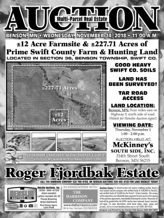 Multi-Parcel Real Estate Auction
