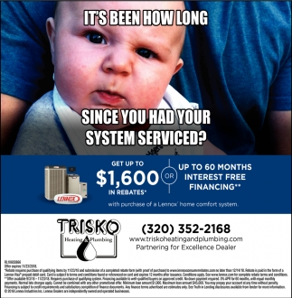 It's Been How Long Since You Had Your System Serviced?