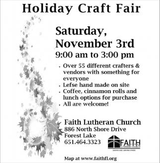 Holiday Craft Fair