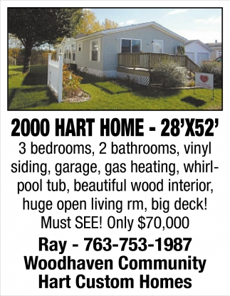 2000 Hart Home - 28'x52'