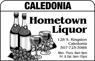 Caledonia Hometown Liquor