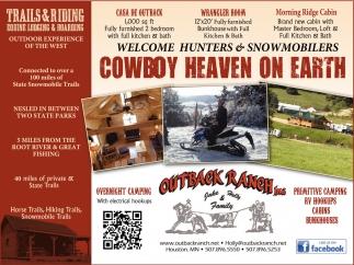 Cowboy Heaven on Earth