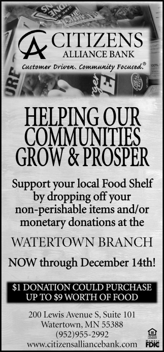 Helping Our Communities Grow & Prosper