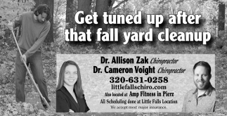 Get Tuned up After that Fall Yard Cleanup