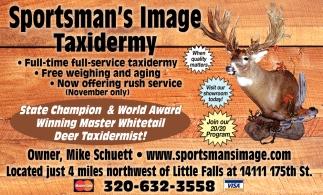 Deer Taxidermist!