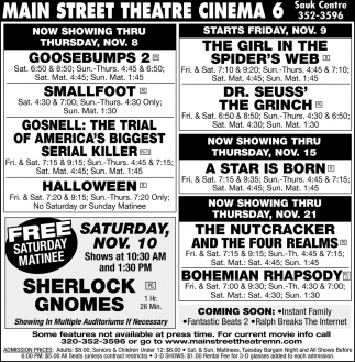 Main Street Theatre Cinema 6