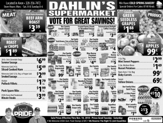 Vote for Great Savings!