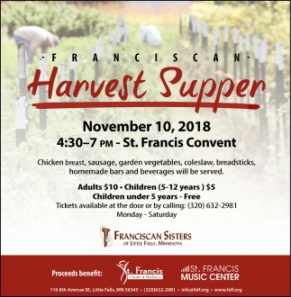 Franciscan Harvest Supper