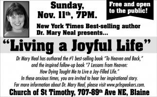 Living a Joyful Life