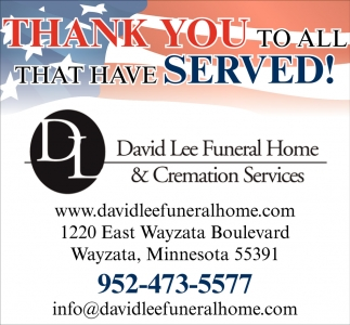 Thank You to All that have Served!