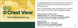 Open House & Craft Fair
