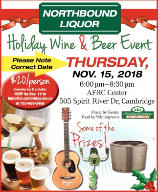 Holiday Wine & Beer Event