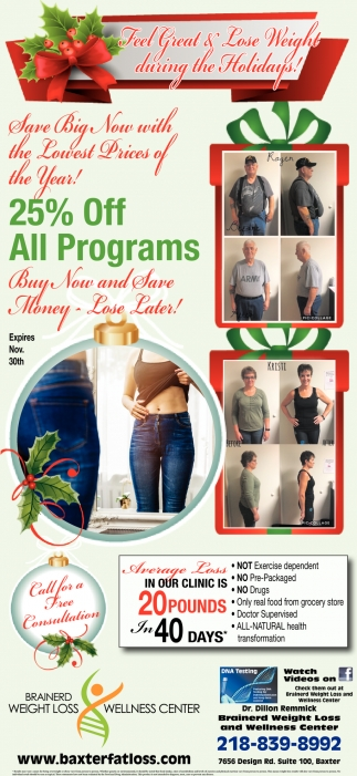 25% OFF All Programs