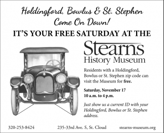 Holdingford, Bowlus & St. Stephen Come On Down!