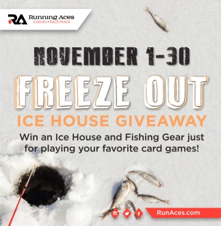 Ice House Giveaway
