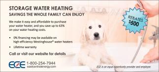 Storage Water Heating