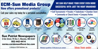 Now Offers Promotional Products!