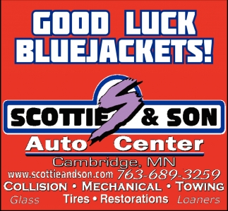 Good Luck Bluejackets!