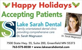Family Orientated Dental Clinic Providing Comprehensive Care